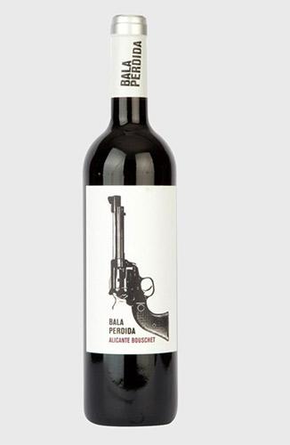 Weinflaschen-Etikett